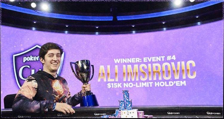 Ali Imsirovic wins PokerGO Cup Event #4 claiming second series win