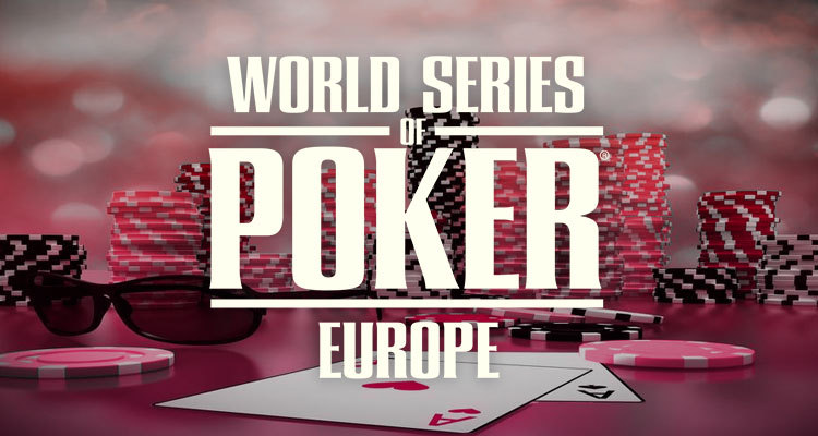 World Series of Poker reveals Europe schedule along with Circuit events