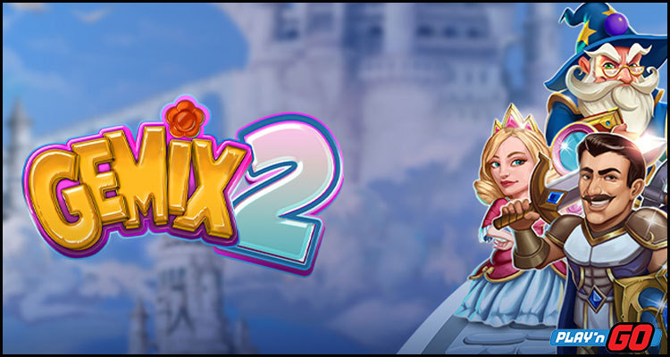 Explore new worlds with the Gemix 2 video slot from Play'n GO
