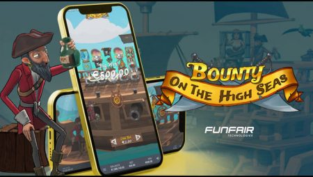 Set sail with the online casino excitement of the new Bounty On The High Seas video slot