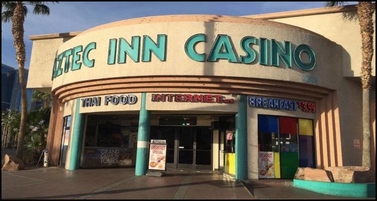 Potential sale on the horizon for Las Vegas' small Aztec Inn Casino