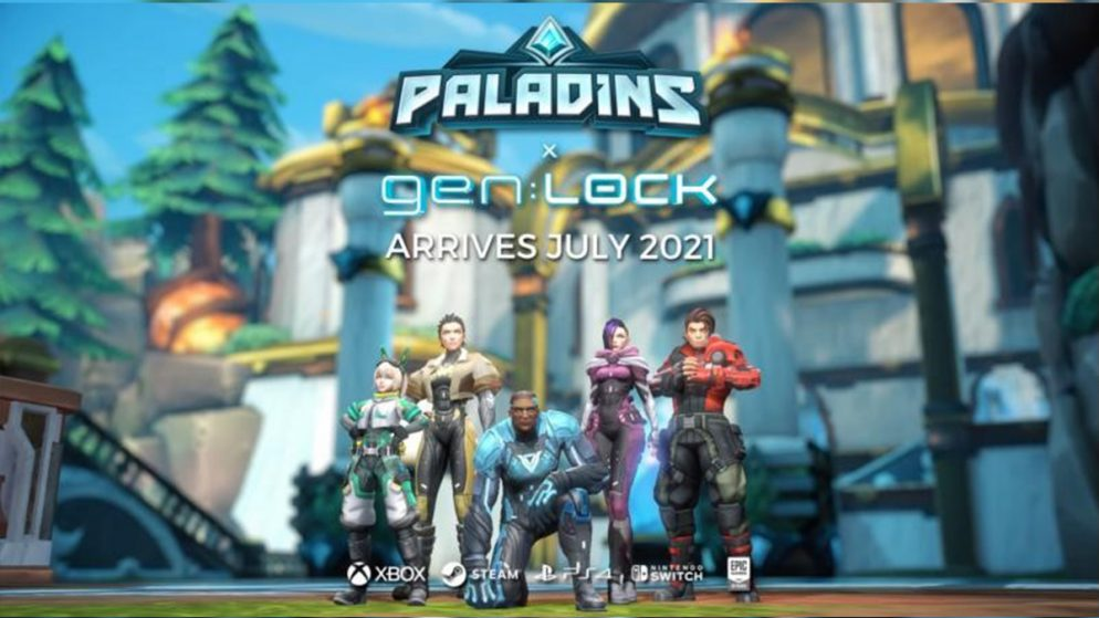New Champion Rei and gen:LOCK Crossover Now Live in Paladins