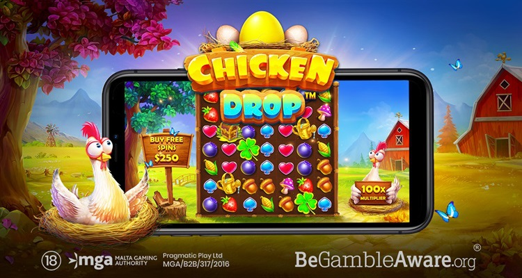 Pragmatic Play squeezes out new cluster-paying video slot: Chicken Drop
