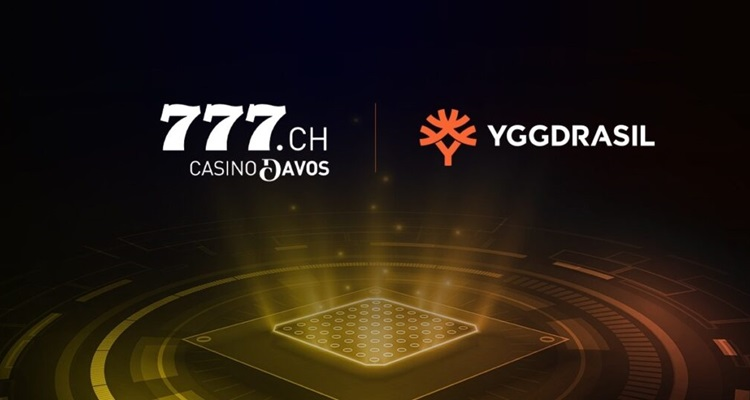 Yggdrasil inks strategic partnership agreement with Casino Davos for iGaming brand Casino777ch in Switzerland