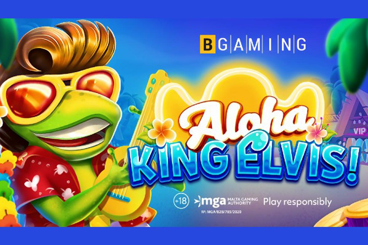 BGaming releases Hawaiian-style slot Aloha King Elvis
