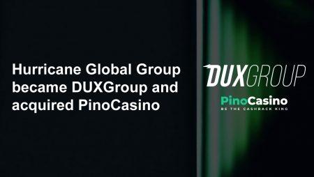 Hurricane Global became DUXGroup and acquired PinoCasino