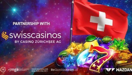 "Wazdan makes Switzerland debut via new ""milestone"" deal with Swiss Casinos"