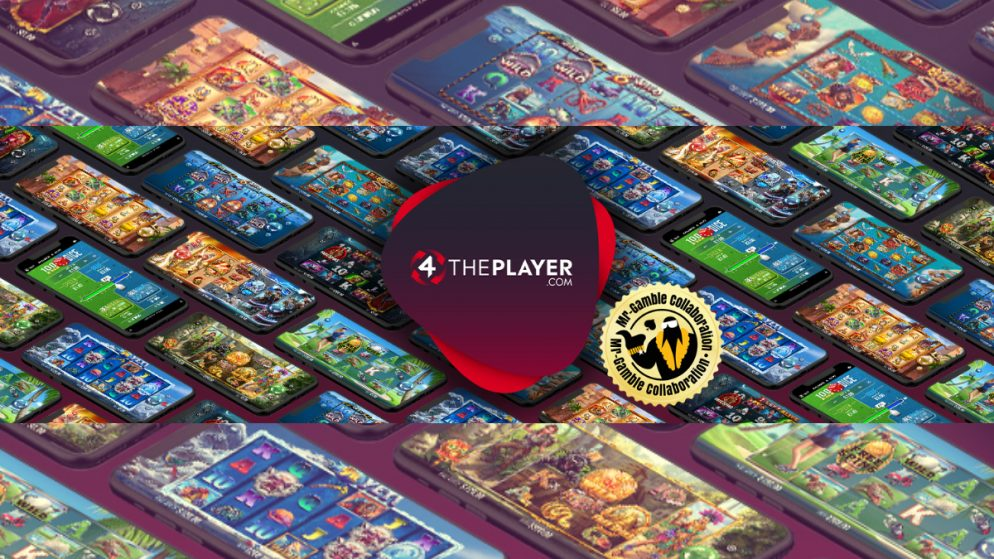 Mr Gamble collaborates with Innovative Slot Supplier 4ThePlayer.com