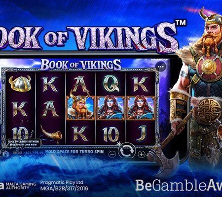 Pragmatic Play revisits popular genre in new video slot Book of Vikings