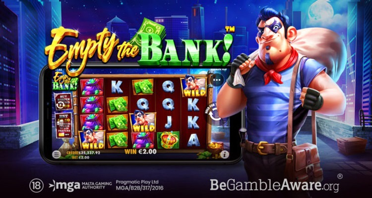 Pragmatic Play unleashes new crime-inspired video slot: Empty the Bank!