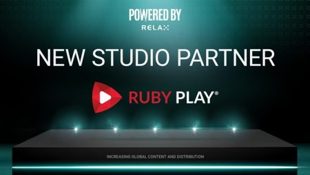 Relax Gaming reveals latest Powered By partner; agrees new online slots integration deal with RubyPlay