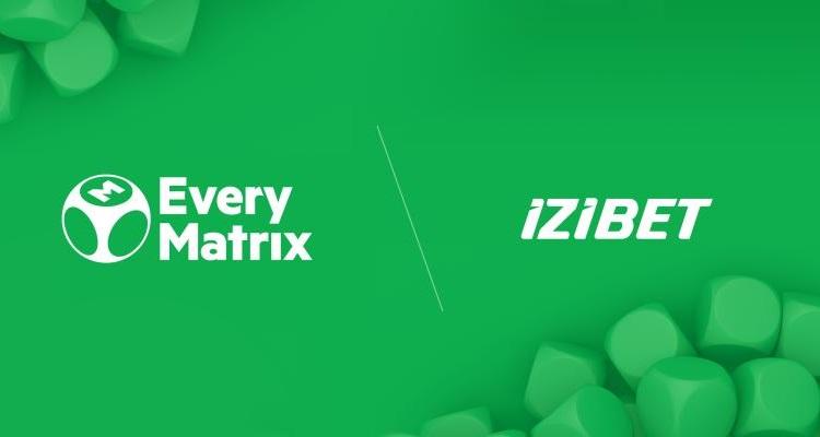 EveryMatrix turnkey solution boosts future growth of iGaming brand IZIBET