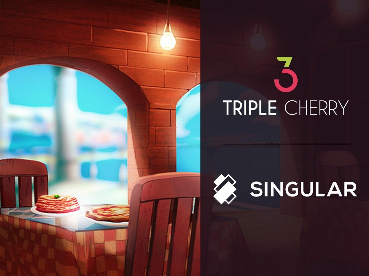 Triple Cherry partners with SINGULAR