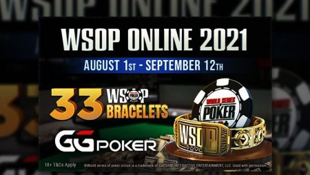 GGPoker releases full schedule of events for WSOP Online 2021