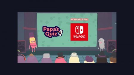 Papa's Quiz – A Party Quiz Perfect for the Nintendo Switch, Launches Today!