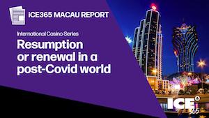 Report issued on Macau gambling market