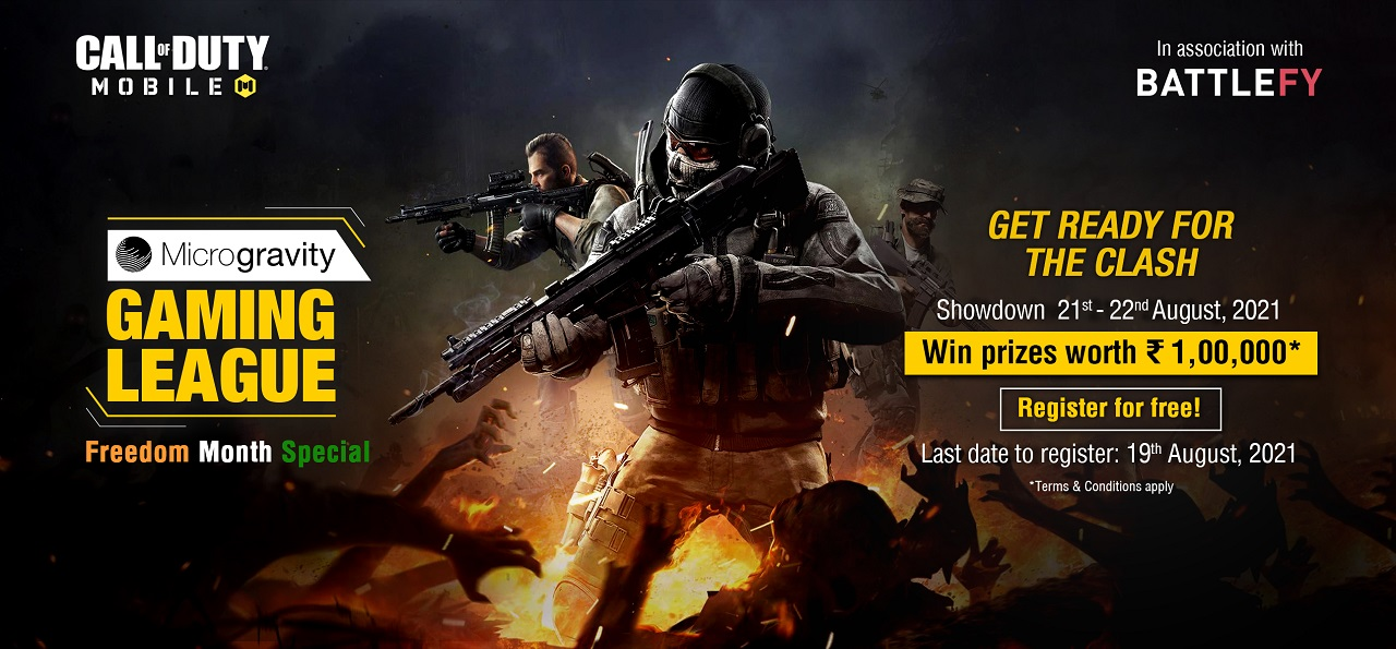 Microgravity announces MGL – Call of Duty: Mobile tournament