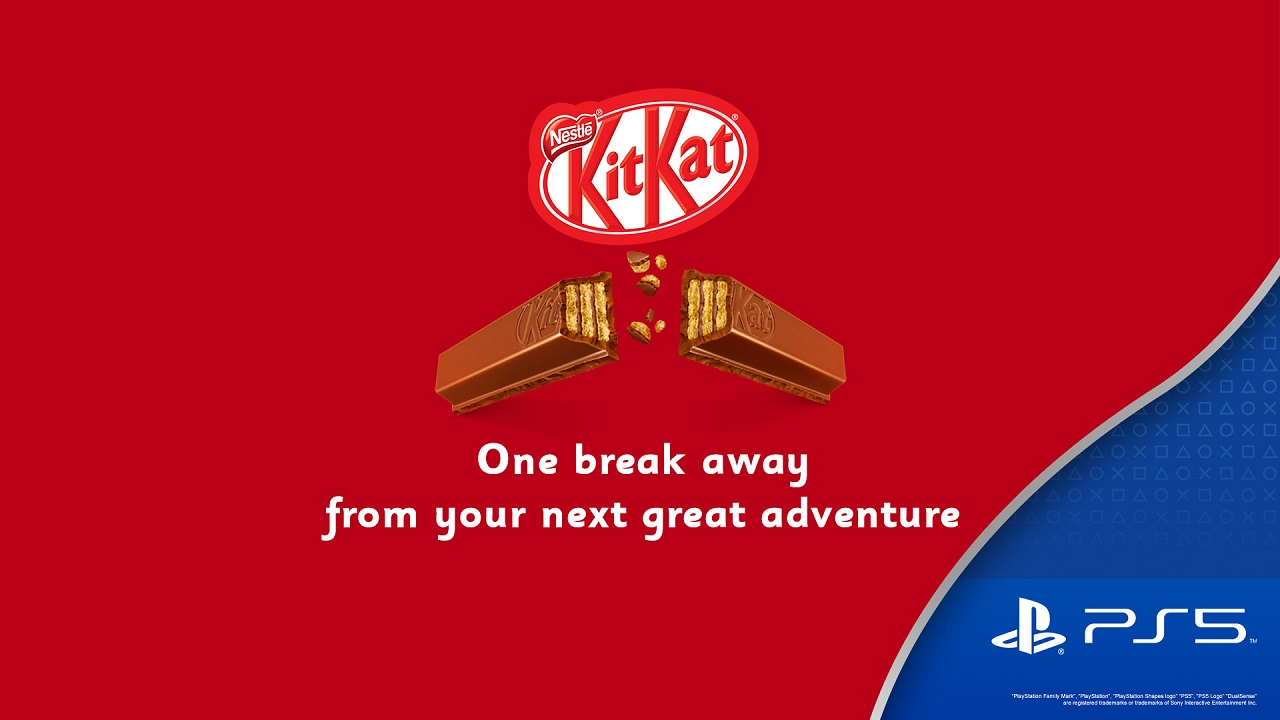 KITKAT AND PLAYSTATION® COLLABORATE ON AN EXCLUSIVE BRAND CAMPAIGN