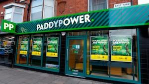 UK betting shop footfall higher