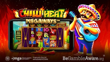 Pragmatic Play spices up the reels in latest video slot release: Chilli Heat Megaways
