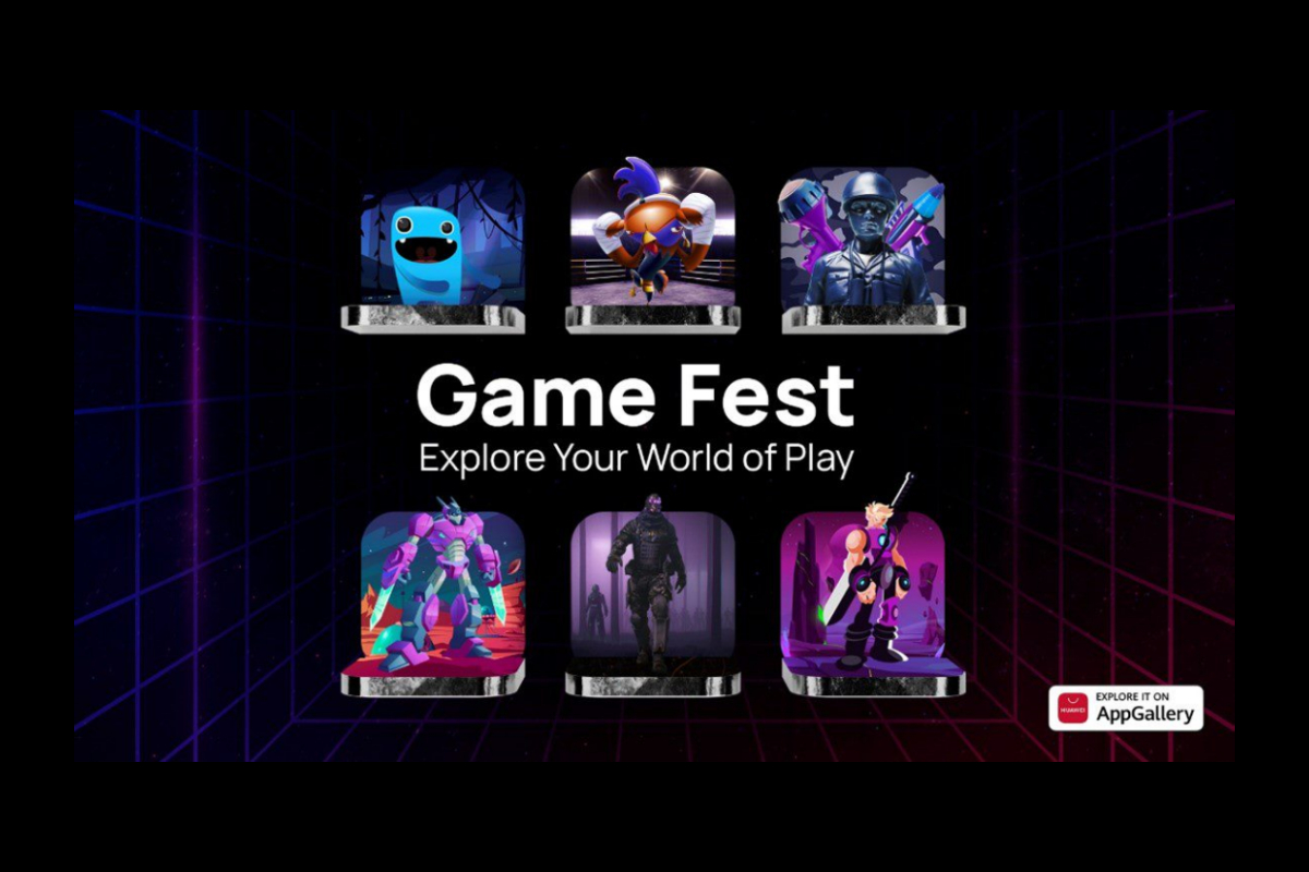 Gaming Apps Score High on AppGallery during Global Game Fest Campaign
