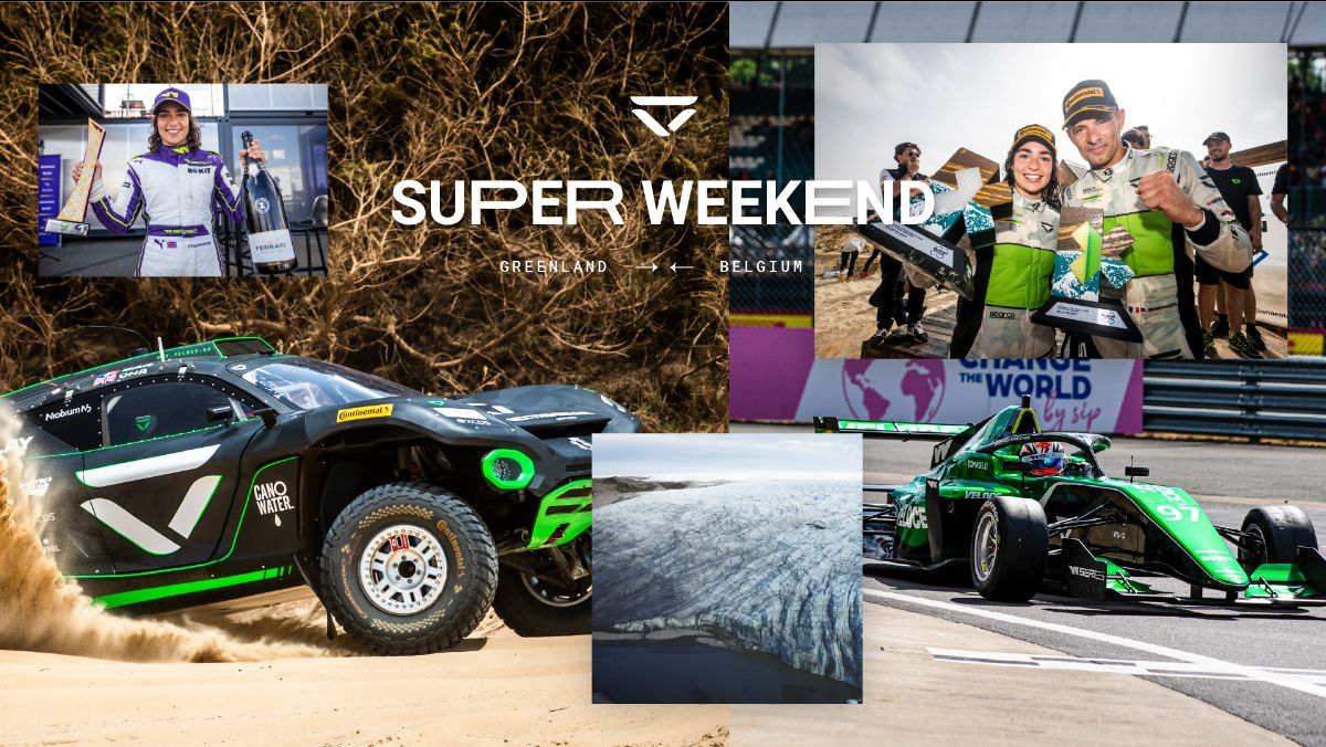 Double trouble: Veloce Racing's biggest-ever weekend to feature non-stop Extreme E and W Series action