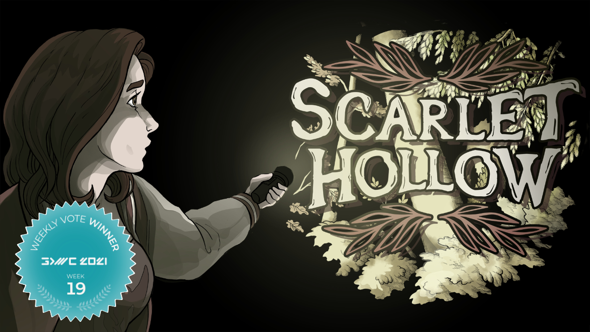Scarlet Hollow Wins the Fan Favorite Vote 19 at GDWC 2021!