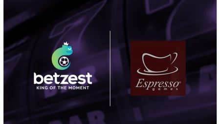 Online Casino and Sportsbook operator Betzest goes live with Espresso Games