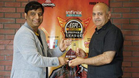 ESPL 2021: Delhi Deputy Chief Minister Launches Team Delhi Dukes