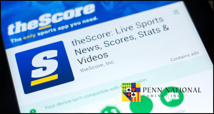 Penn National Gaming Incorporated acquiring Score Media and Gaming Incorporated