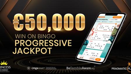 PRAGMATIC PLAY APPLAUDS OVER €50,000 WIN ON BINGO PROGRESSIVE JACKPOT