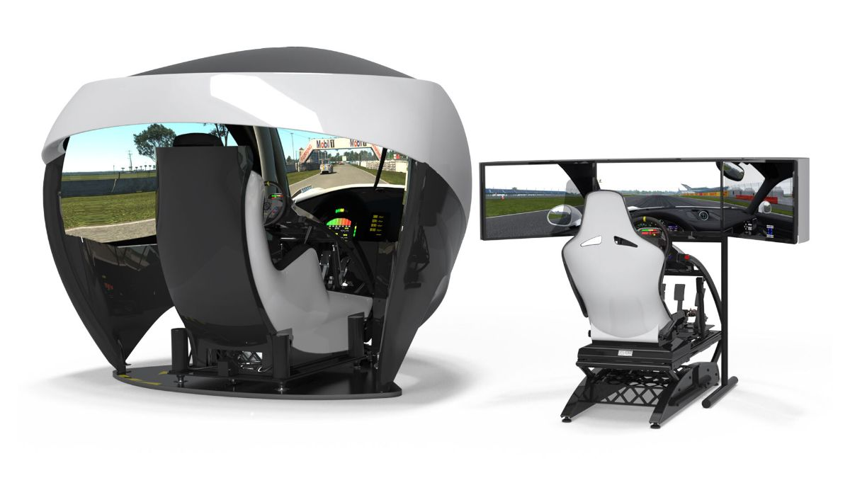 Veloce Esports and Motion Simulation launch the 2022 TL Series and all-new LC Series racing car simulators