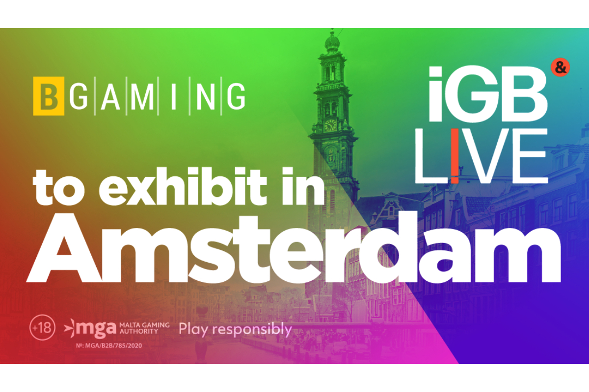 BGaming to exhibit at iGB Live!