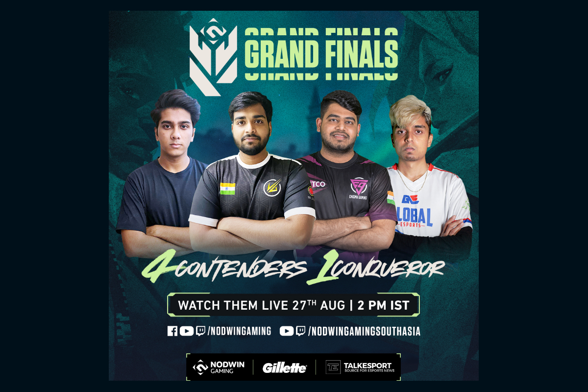 GRAND FINALE OF NODWIN GAMING'S VALORANT CONQUERORS CHAMPIONSHIP' 21 TO STREAM LIVE FROM AUG 27-29