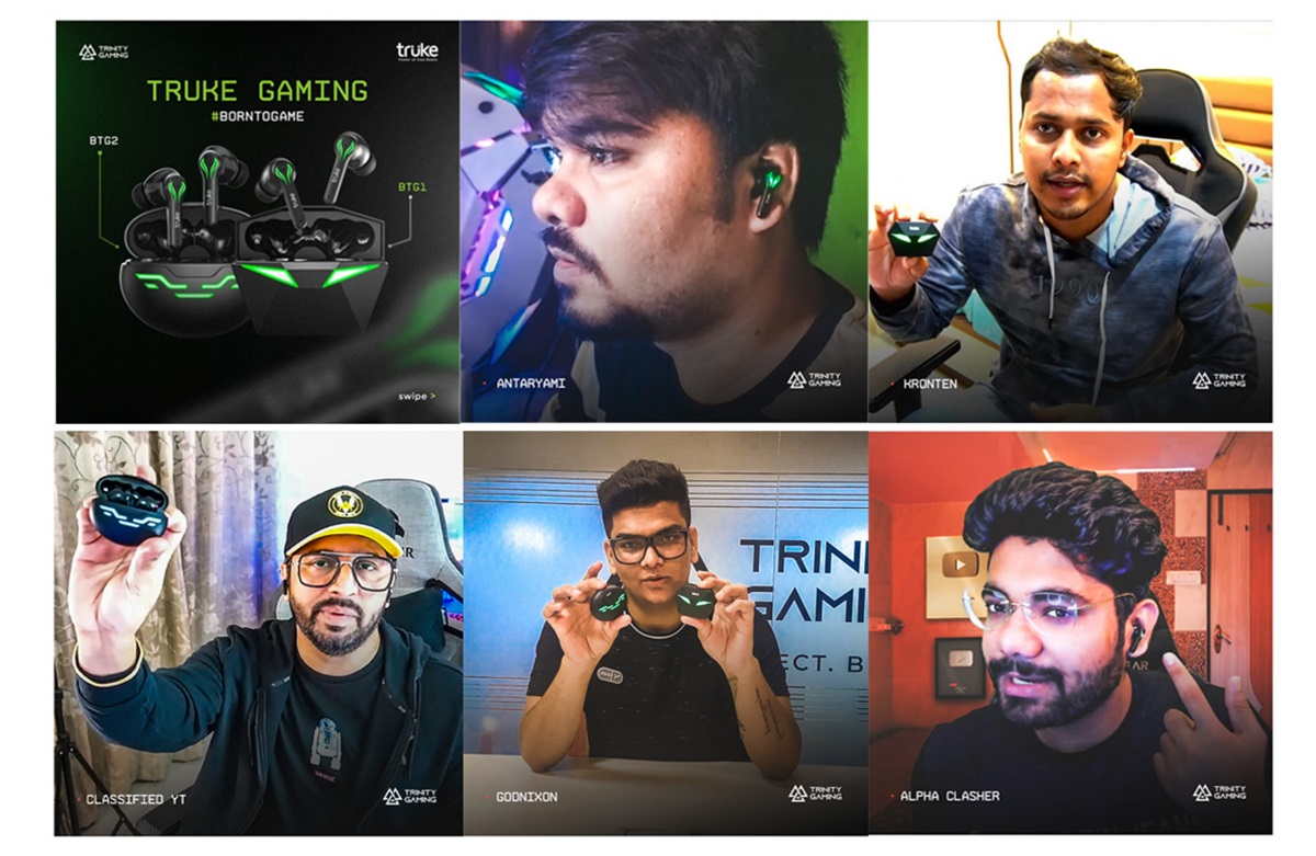 LEADING AUDIO BRAND, TRUKE COLLABORATES WITH TRINITY GAMING'S ACE CREATORS FOR THEIR LATEST CAMPAIGN