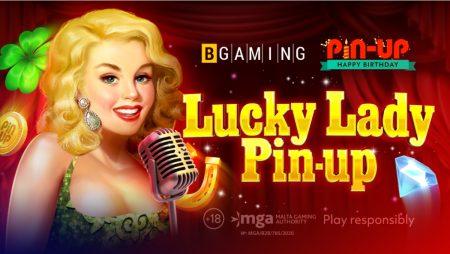 BGaming celebrates Pin-Up casino birthday releasing new custom slot Lucky Lady Pin-up