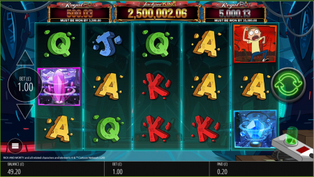 Rick and Morty™ lands into Blueprint Gaming's Jackpot King series