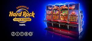 Zitro games at Tampa's Hard Rock casino