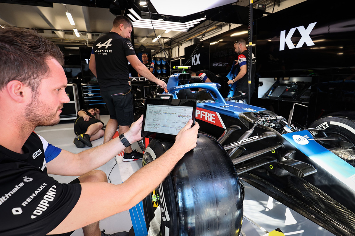 KX Named Official Supplier Of Real-time Data Analytics To Alpine F1 Team In Global Partnership Agreement