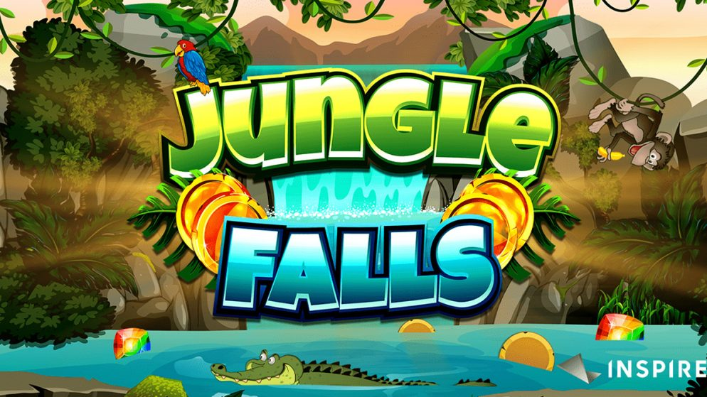 INSPIRED LAUNCHES JUNGLE FALLS, A JUNGLE-THEMED ONLINE & MOBILE SLOT GAME