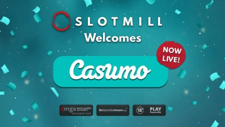 Slotmill goes live with Casumo