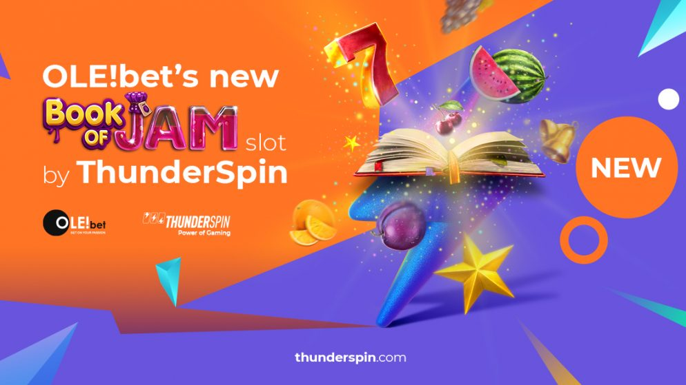 ThunderSpin opens the pages of the new Book of Jam slot