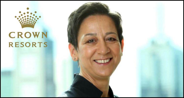 Antonia Korsanos to leave casino operator Crown Resorts Limited next month