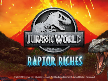 Microgaming and Fortune Factory Studios presents new Jurassic World: Raptor Riches online slot game