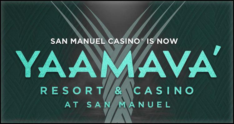 Name change for southern California's expanding San Manuel Casino