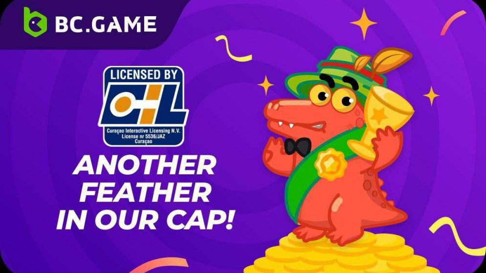 BC.GAME is now the proud owner of the much-awaited Curacao License!