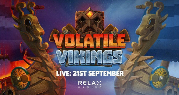 Relax Gaming takes it to a whole new level with roaring new video slot Volatile Vikings