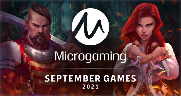Plethora of new September online casino content from Microgaming