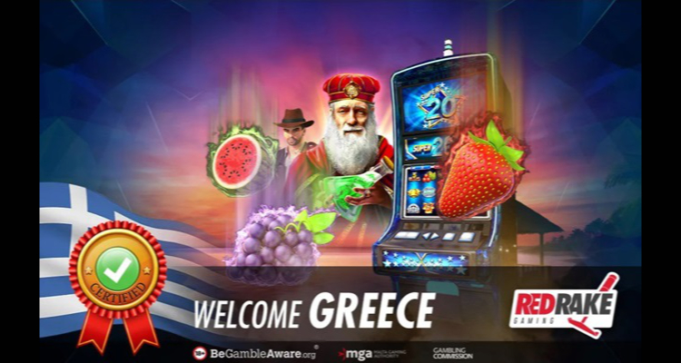 Red Rake Gaming expands regulated market reach; awarded Greek license