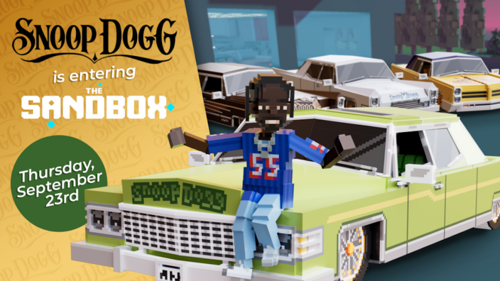The Sandbox Partners with Snoop Dogg to Bring the Legendary Icon into the Metaverse